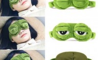 蛙眼惺忪眼罩