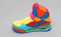 用3D立体拼图拼出NIKE air jordan鞋
