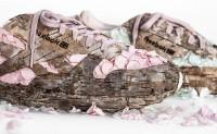 用花瓣与树皮做的运动鞋 你见过么?
