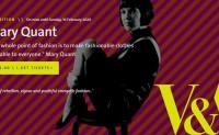 """""""迷你裙之母""""Mary Quant 个人回顾展参观者超40万人次"""