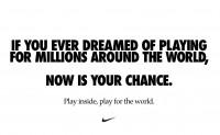 NIKE 发布疫情期间新广告,号召大家为全世界而战