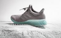 阿迪达斯与parley合作推出由海洋垃圾制作的3D打印鞋款