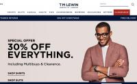 英国男装零售商 TM Lewin 被私募基金 SCP收购