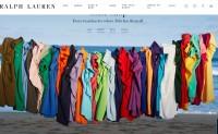 Ralph Lauren上季度中国线上销售额大增76%