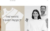 COS 发布 The White T-shirt Project 特别系列
