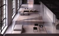 "alessandro isola 用地毯创作""隐形""沙发"