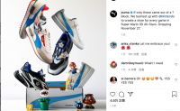 Puma与任天堂合作推出联名运动鞋系列