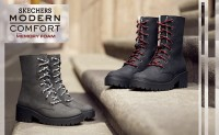 斯凯奇发布生活风尚系列新季女士休闲靴