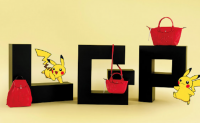 Longchamp发布与Pokémon皮卡丘联名系列
