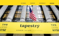 Coach 母公司Tapestry最新季报业绩好于预期