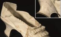 """""""断头皇后""""的一只山羊皮鞋拍出34万元人民币"""
