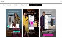 电商 Yoox 升级虚拟试衣 app,提供5万件数字服装选择
