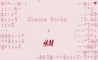 H&M携手的是文艺少女风的 Simone Rocha