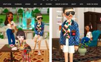 """Gucci 与虚拟社交应用""""崽崽 Zepeto"""" 合作,打造梦幻别墅"""