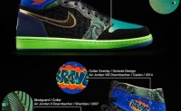 "Doernbecher Air Jordan 1 ""What The"""