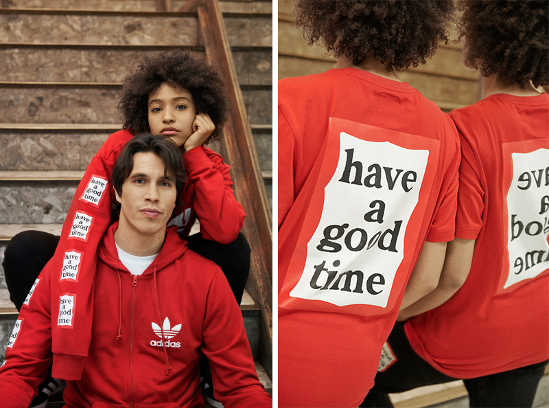 adidas Originals 联手 have a good time 新年专属系列