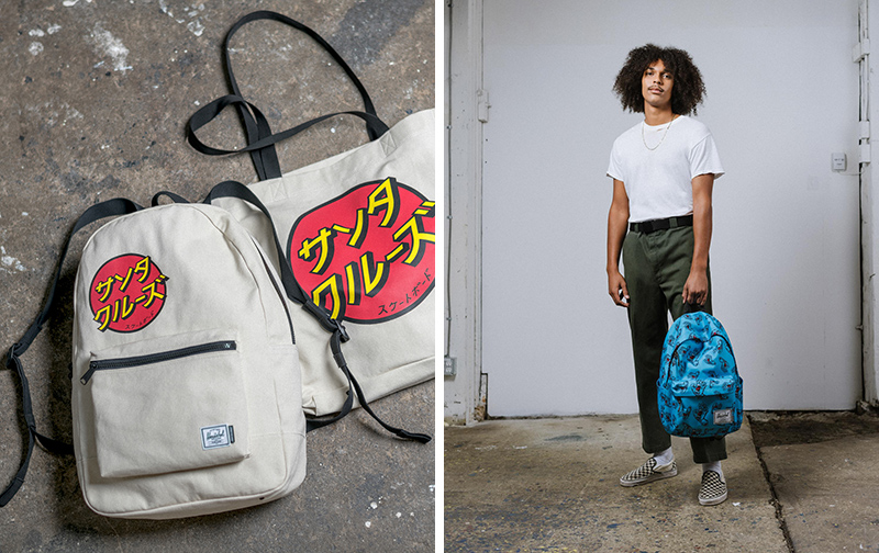 Herschel Supply x Santa Cruz 2019 春季联名系列