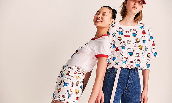Levi's x Hello Kitty合作系列
