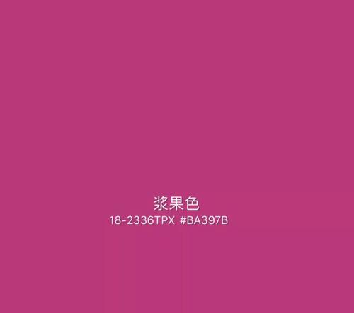 2020年秋冬重点流行色趋势:浆果色&深薰衣草紫色