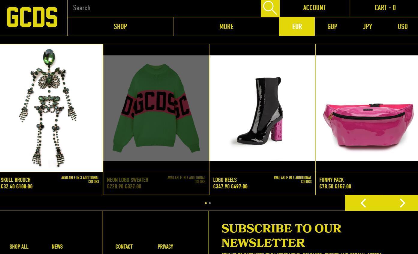 意大利街头服饰品牌 GCDS 开拓国际市场