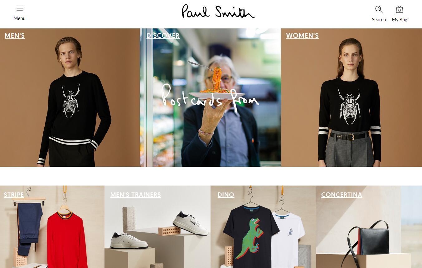 英国设计师品牌Paul Smith业绩恢复增长