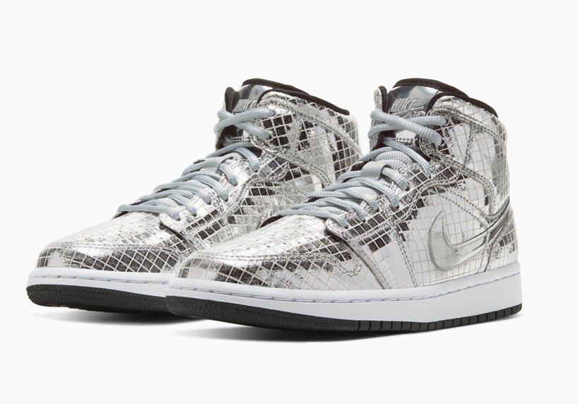 最闪亮的跨年运动鞋air jordan 1 discoball