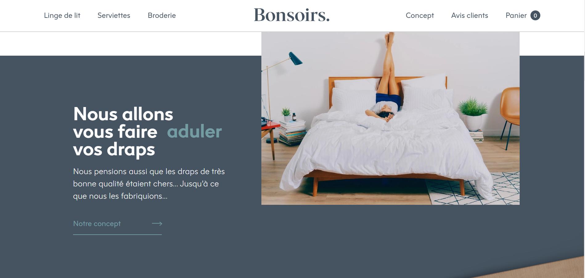 """法国互联网品牌 Bonsoirs 力图""""撼动沉睡的家纺行业"""""""