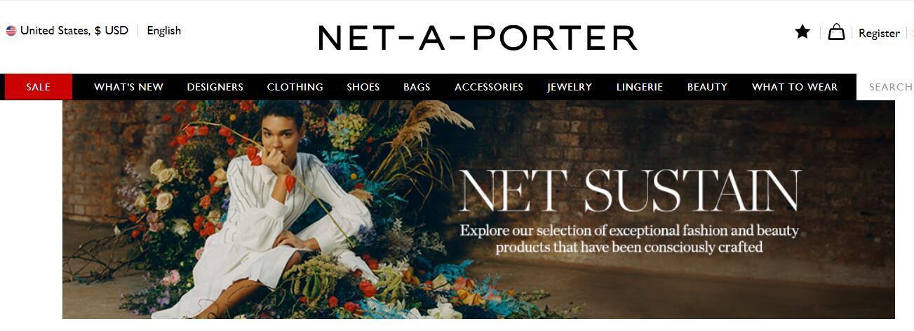 奢侈品电商 Net-A-Porter的可持续项目新增72个品牌