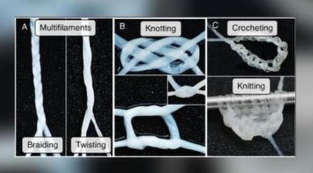 用人体皮肤细胞「捻」成的纱线