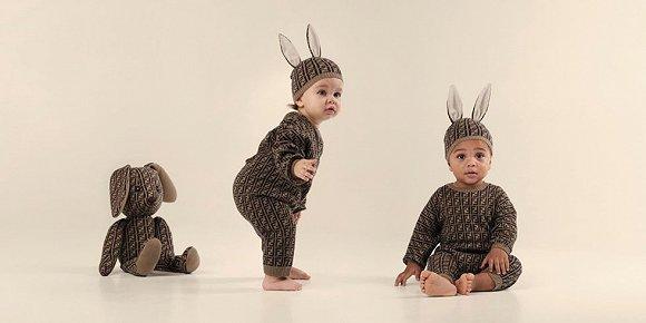 Fendi带来全新的童装系列