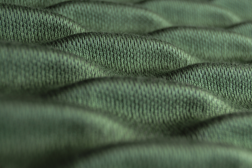 3D编织面料惊艳亮相