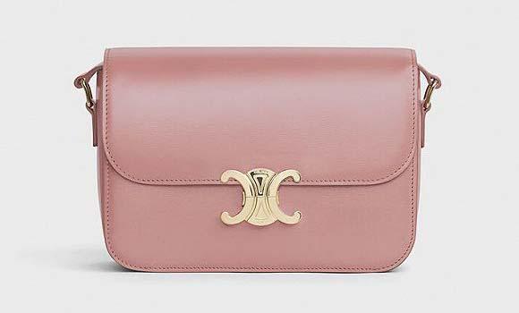 CELINE将大热包袋刷上粉红色的情人节系列