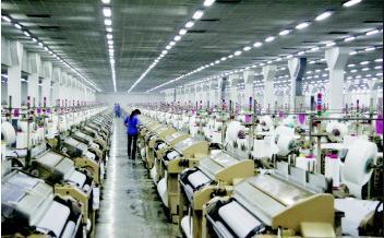 去年规模以上纺织企业实现利润总额2251亿元