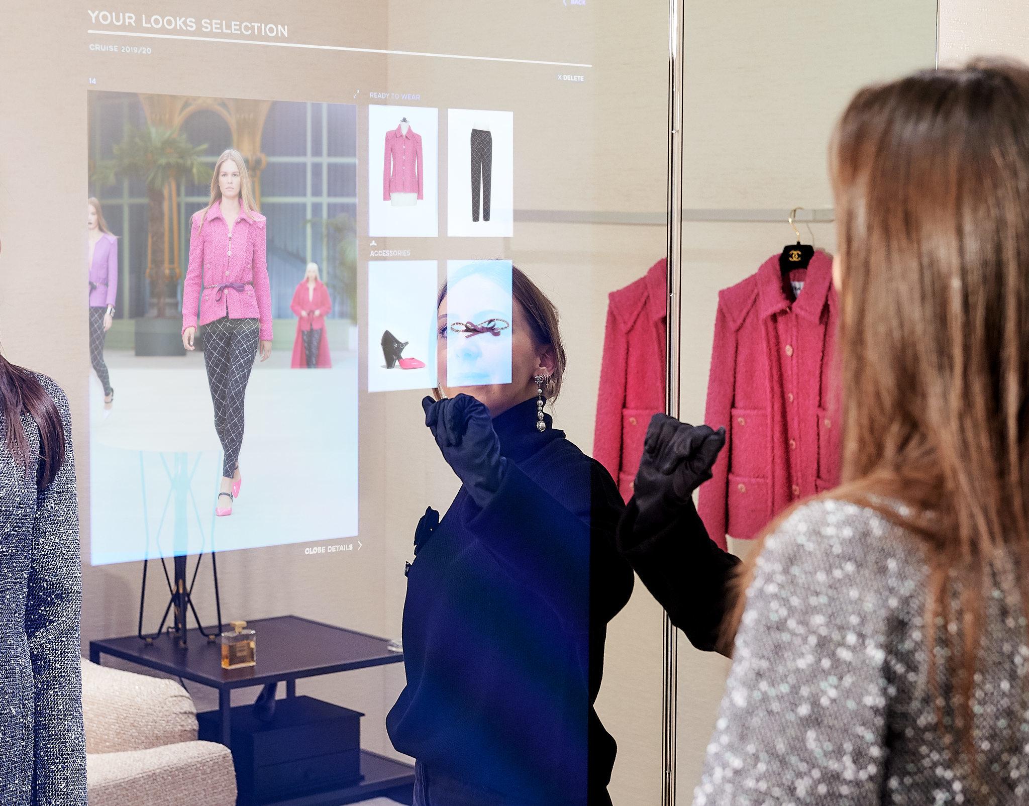 Chanel 与奢侈品电商 Farfetch 合作打造高科技门店试点