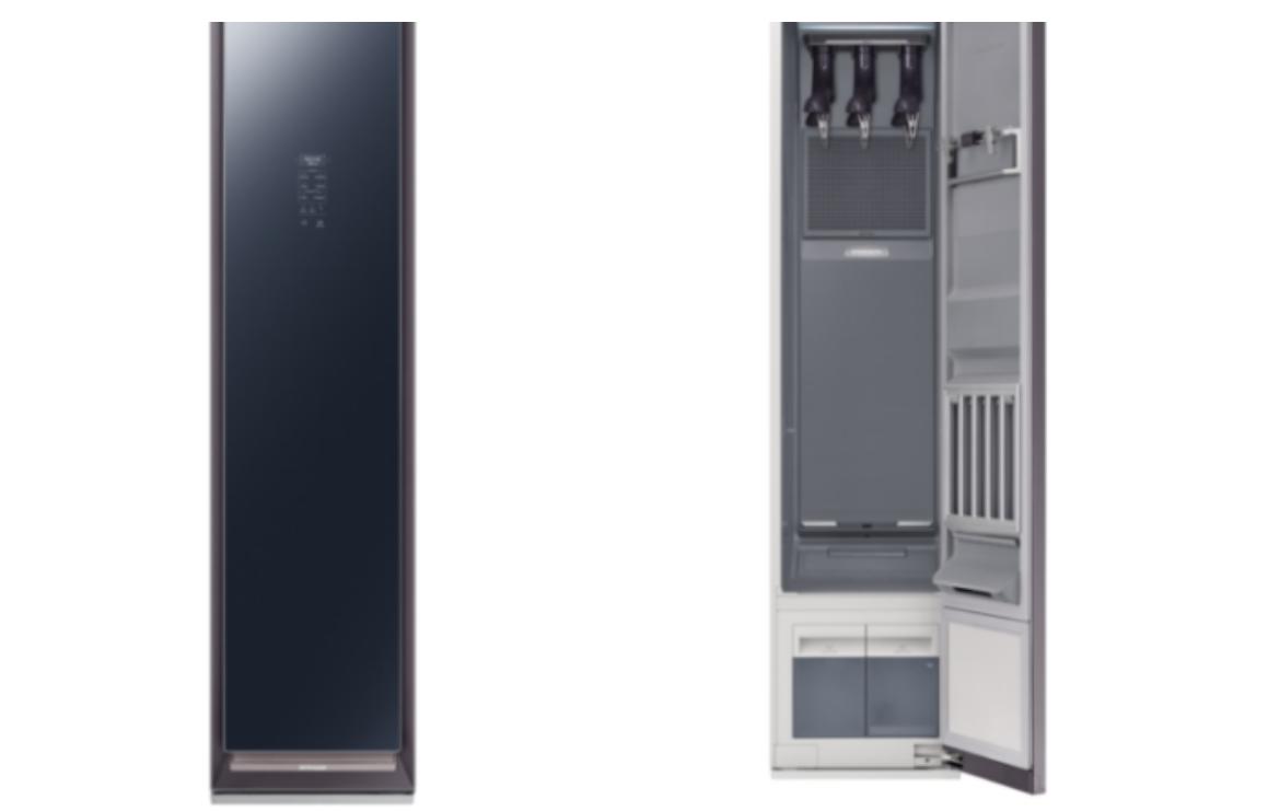 三星集团推出全新衣物护理衣柜 AirDresser
