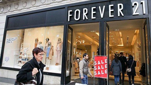 闪电节奏,Forever 21已正式被收购