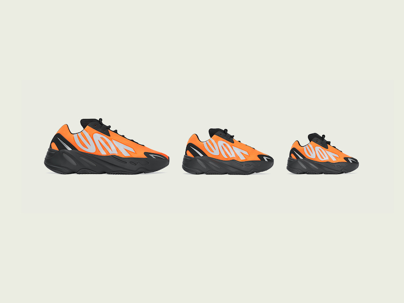 YEEZY BOOST 700 MNVN Orange 发售时间确定