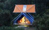 总面积50平米的大型双层帐篷SuperPausée