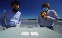能反射95.5%阳光的超白涂料可帮助降温