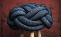 一坨编织座椅