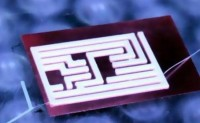 用新型油墨打印全柔性自供电系统