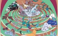 品牌 MIIDII谜底带来印花装置艺术双年展