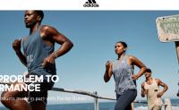 "Adidas 联合海洋公益组织举行第四届""为海洋奔跑""活动"