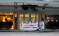 开业仅10天La Samaritaine百货被维权组织喷涂黑漆